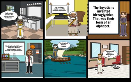 Egypt comic