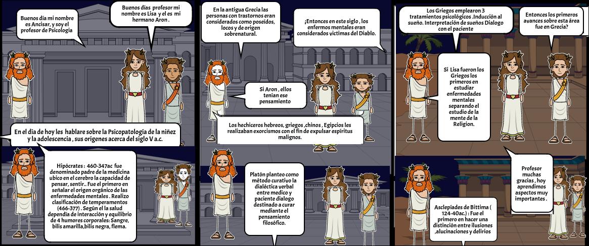 Psicopatologia-Grecia-Edad Antigua Siglo V -a.c.