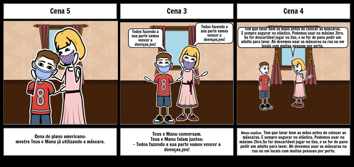 MANU E TEUS - CONTRA O COVID