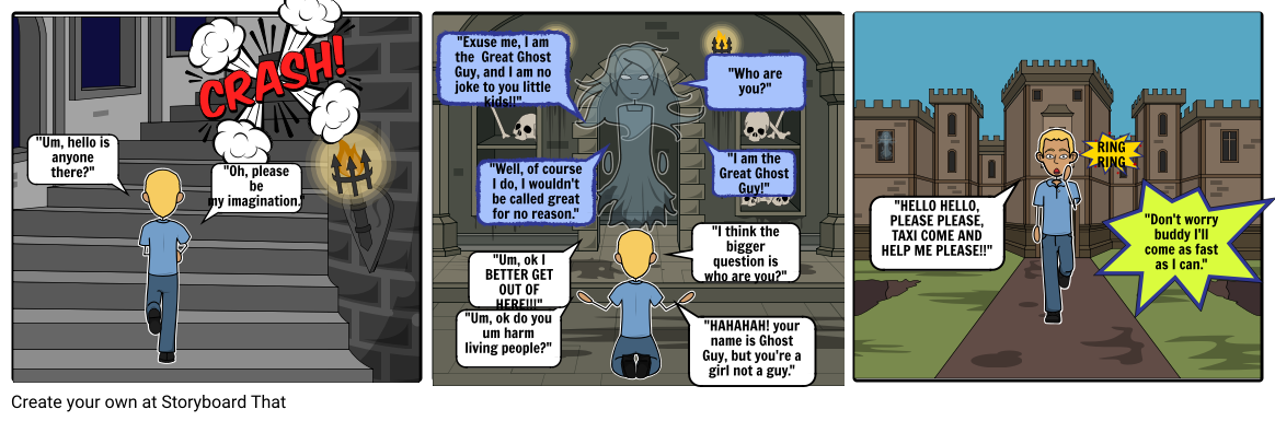 Adventures Of The Magic Taxi With Ghost Guy P2