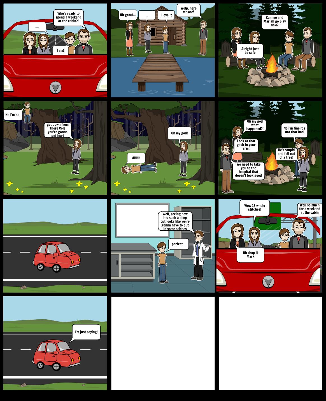 The cabin trip