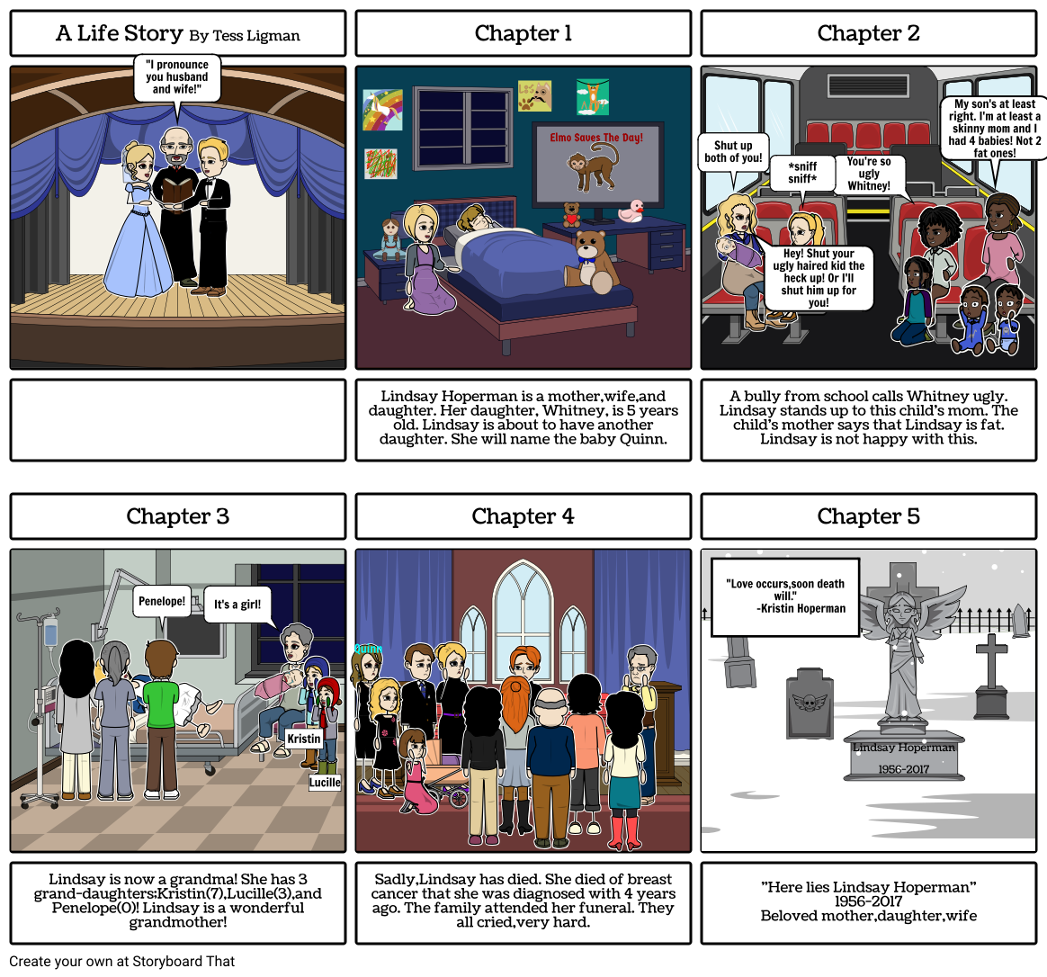 A Life Story Storyboard by coolkoala450