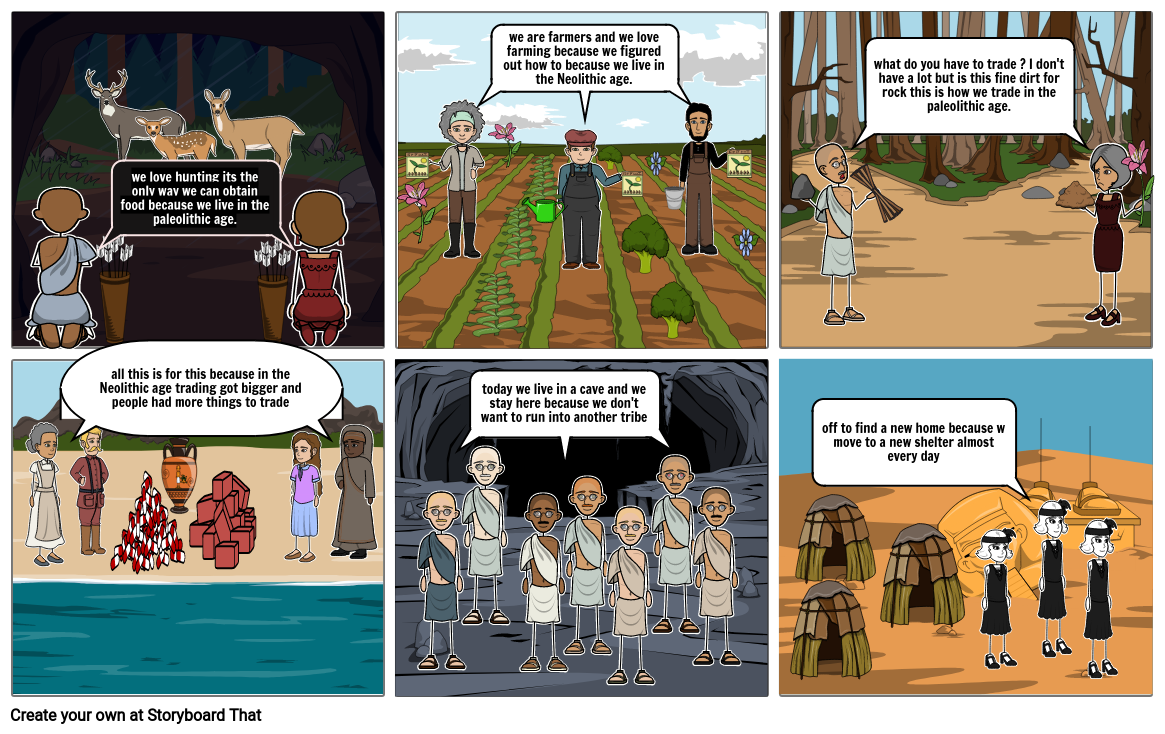 Stone age comic book By: Lucas
