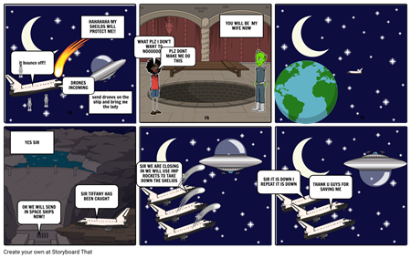 THE Space Invasion(part 2)