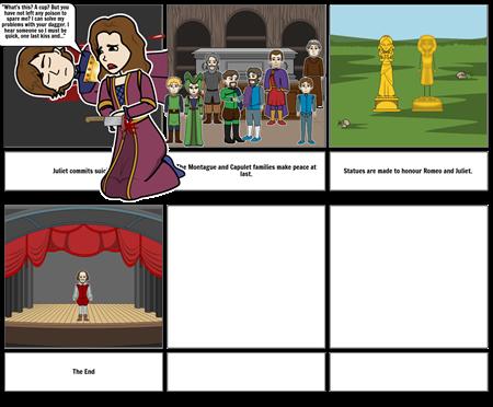Romeo and Juliet: Act 5, scene 3 B