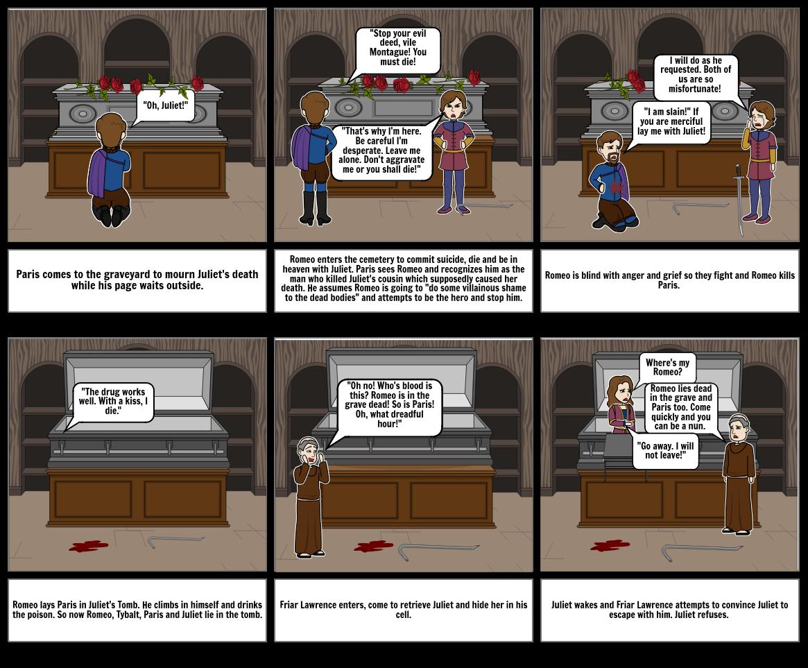 Romeo and Juliet: Act 5, scene 3