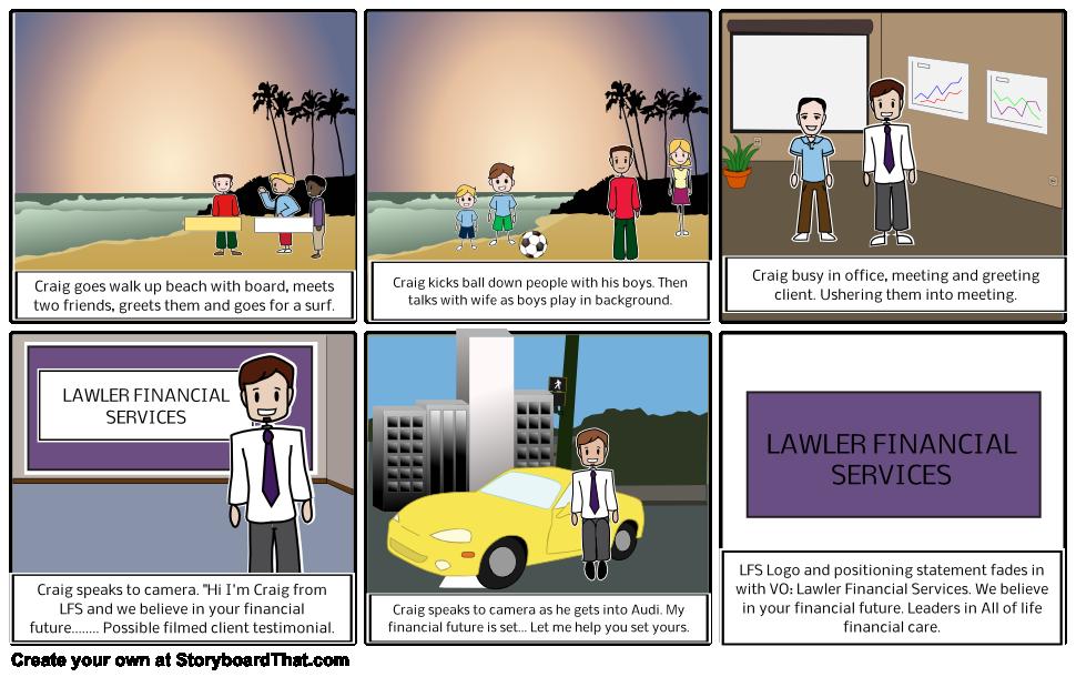 LFS Promo story board - Craig Sawyer