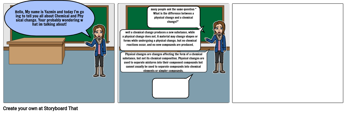 Chemical and Physical change