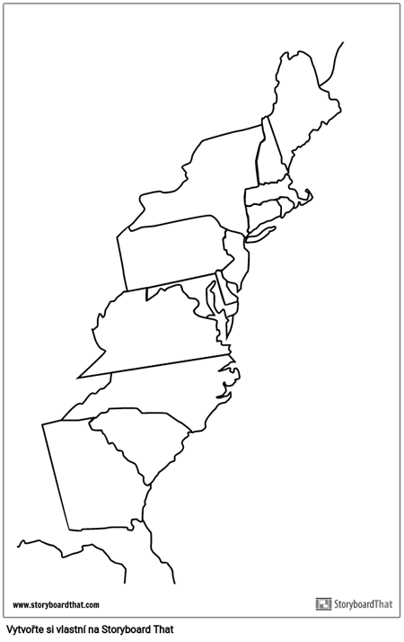 13 Colonies Plakát