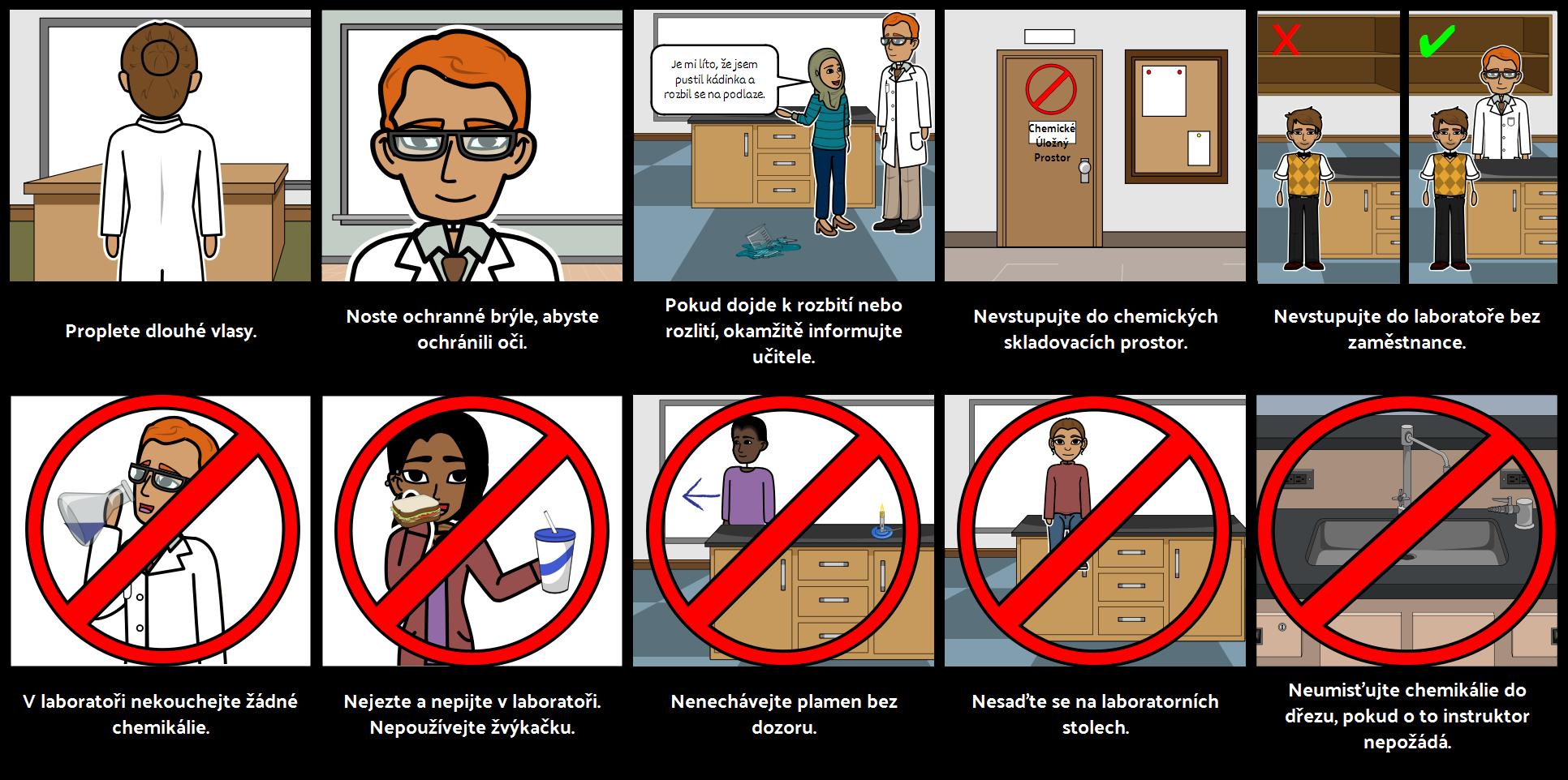 Bezpečnostní Pravidla Laboratoře