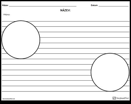 Dvě Kruhové Ilustrace