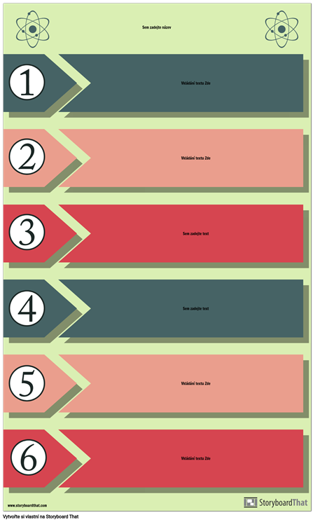 Experimentální Proces Infographic