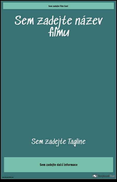 Filmový Plakát 3