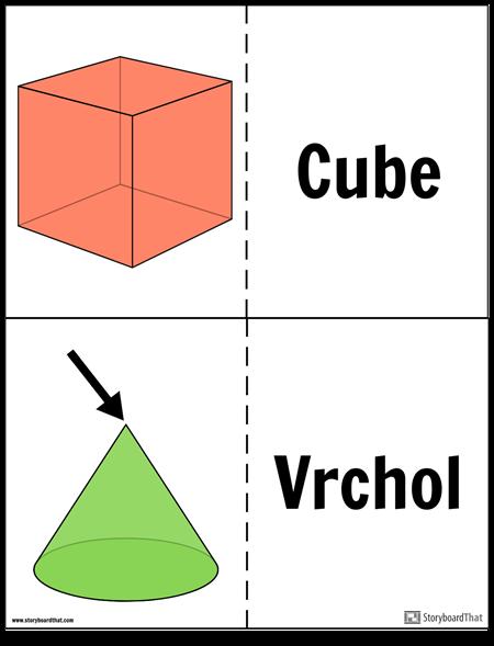 Geometrické Pevné Flash Karty