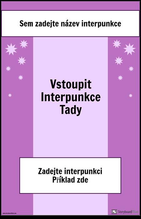 Interpunkční Plakát 2