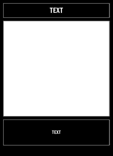 Jednoduchá Prázdná Šablona
