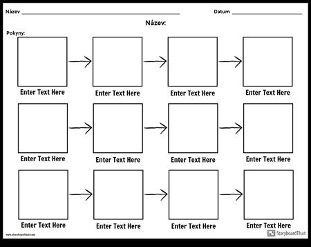 Jednoduchý Diagram - 3 Řádky