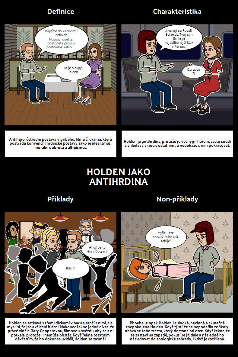Kdo Chytá v Žitě Holden Jako Antihrdina
