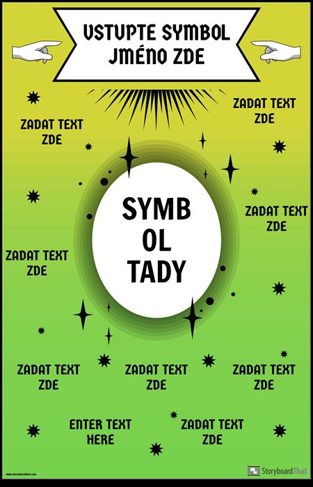 Matematický Symbol Plakát