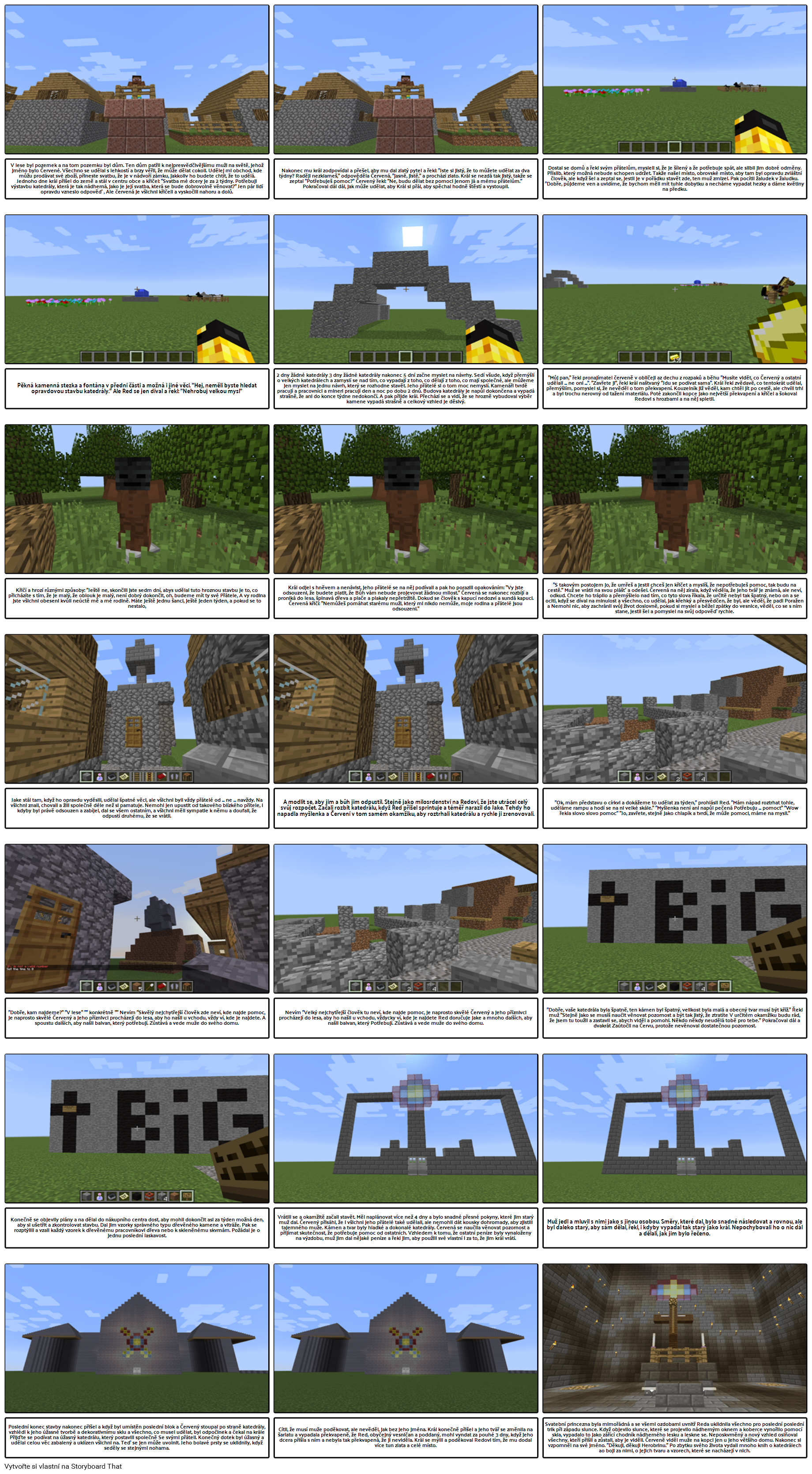 Minecraft Student Příklad