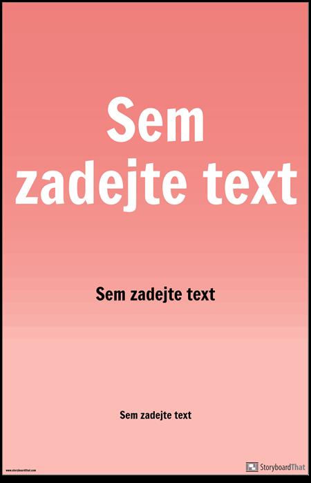 Plakát PSA