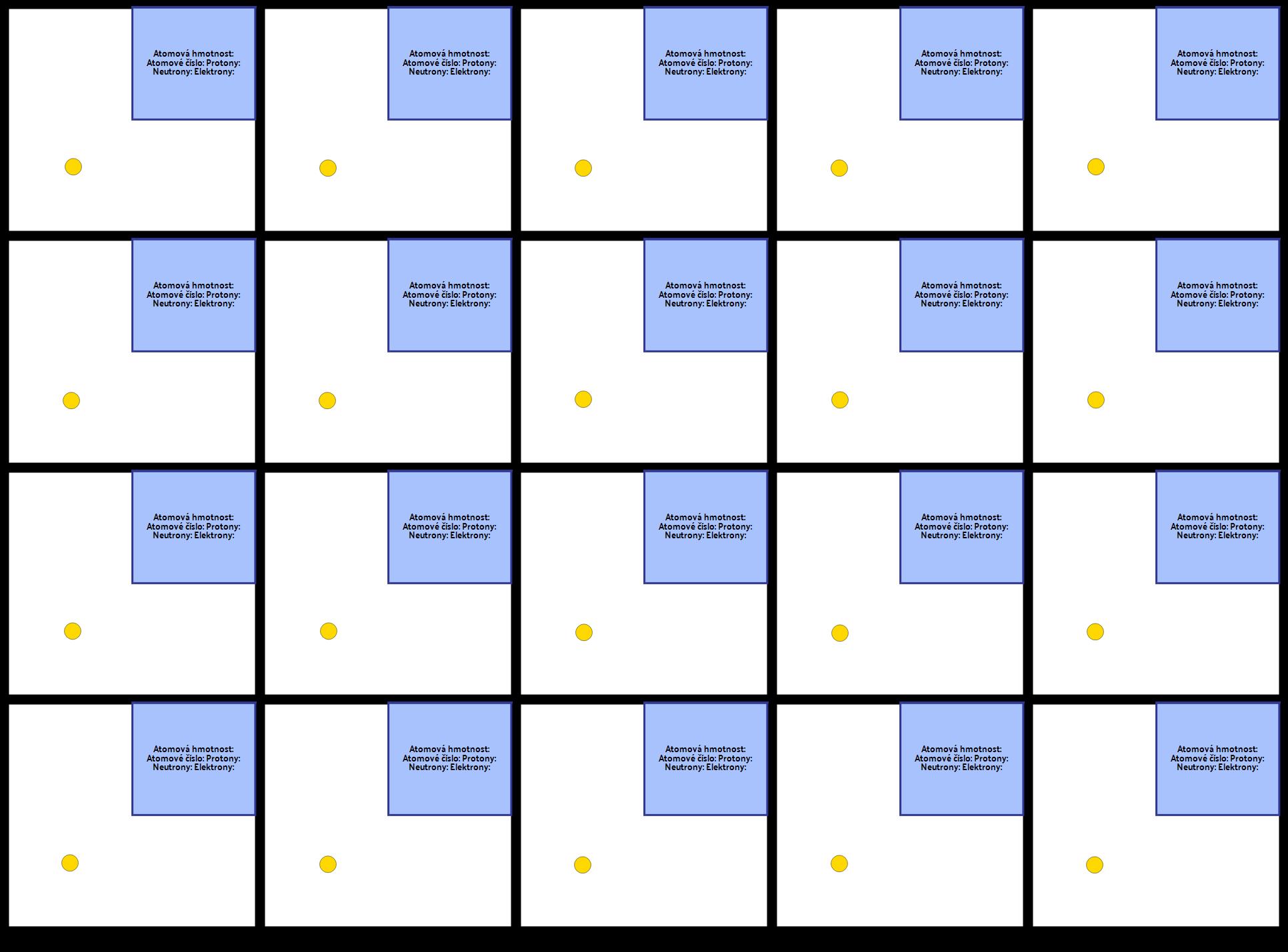 První Šablona 20 Prvků
