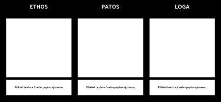 Šablona Ethos Pathos Logos
