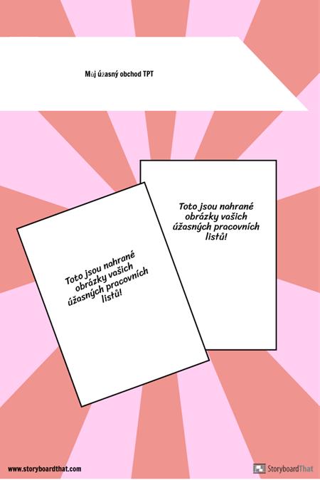 Šablona Pinterest TPT