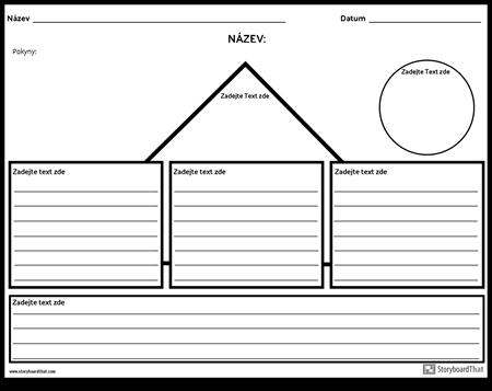 Shapes Outline s Řádky