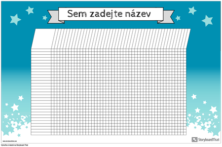Student Chart Poster Horizontal