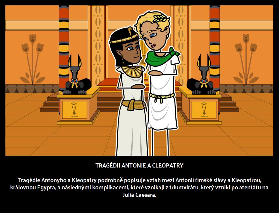 Tragédie Antony a Kleopatry
