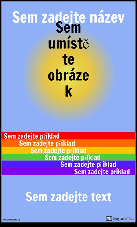 Vizuální Vocab Plakát