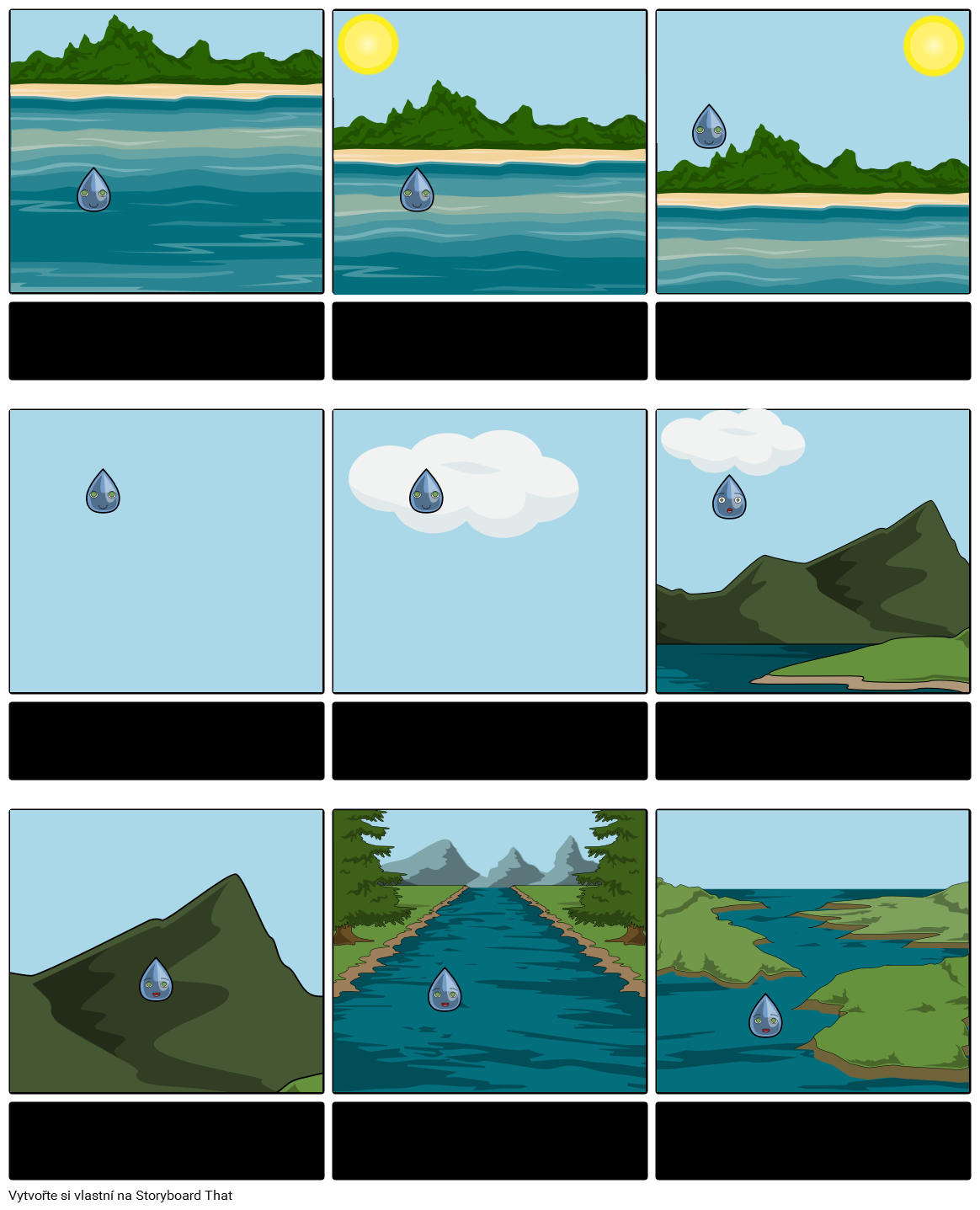 Vodní Cyklus Vyprávění