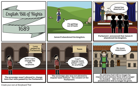 English Bill of Rights - 1689