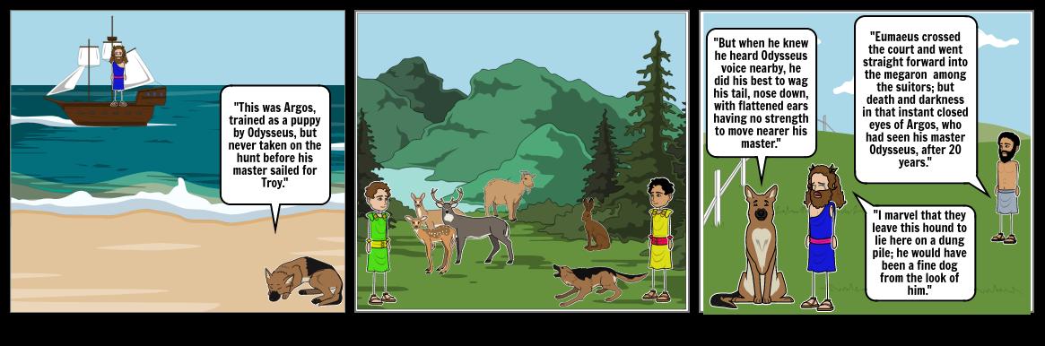 The Beggar and the Faithful Dog