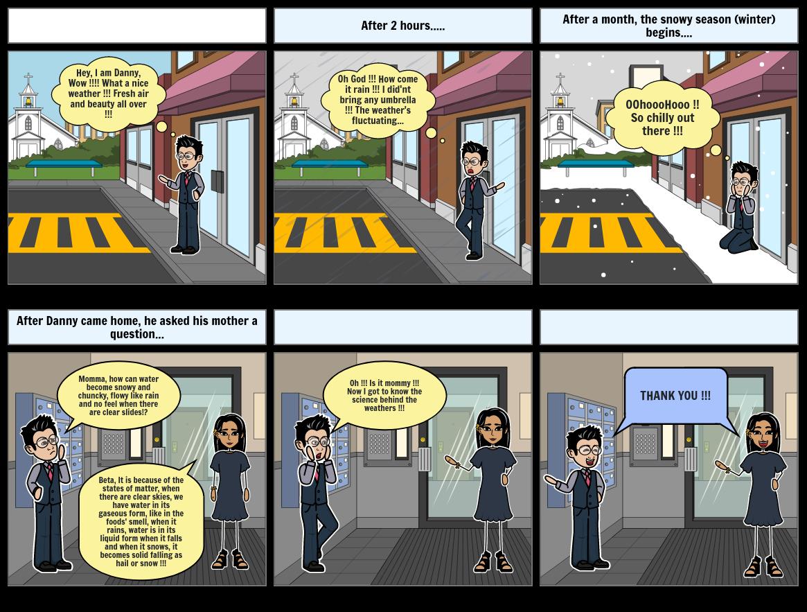 Science Comic Strip