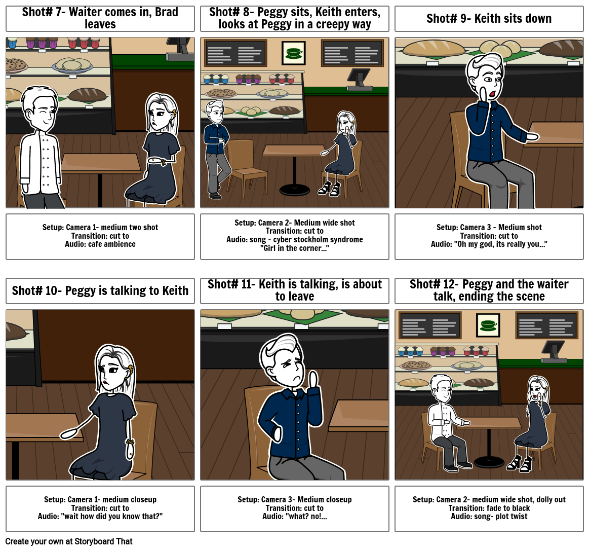 The right one storyboard pt 2