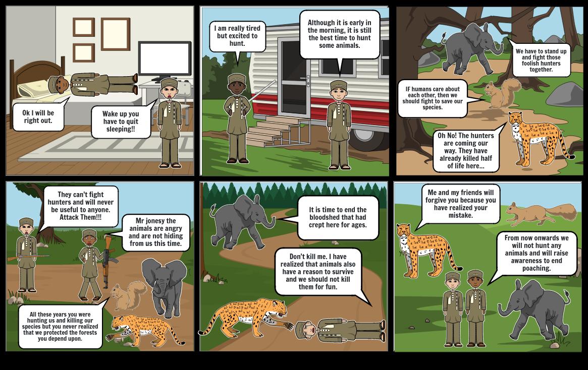 English formative storyboard
