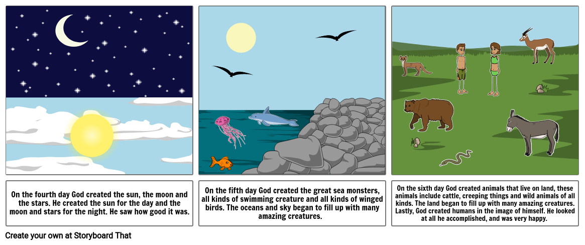 Creation Story- part 2