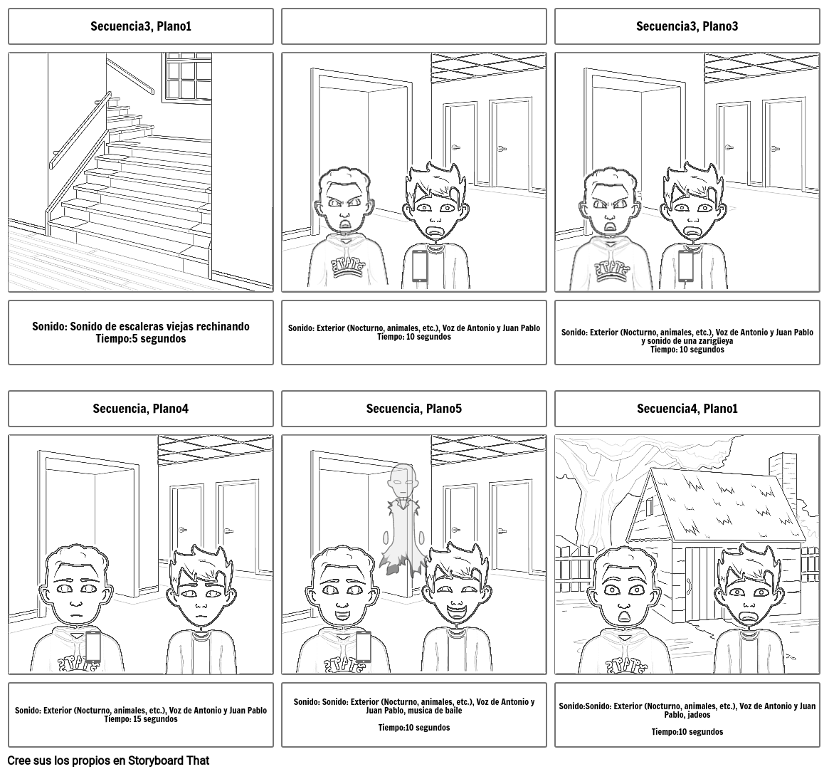 STORYBOARD GUION