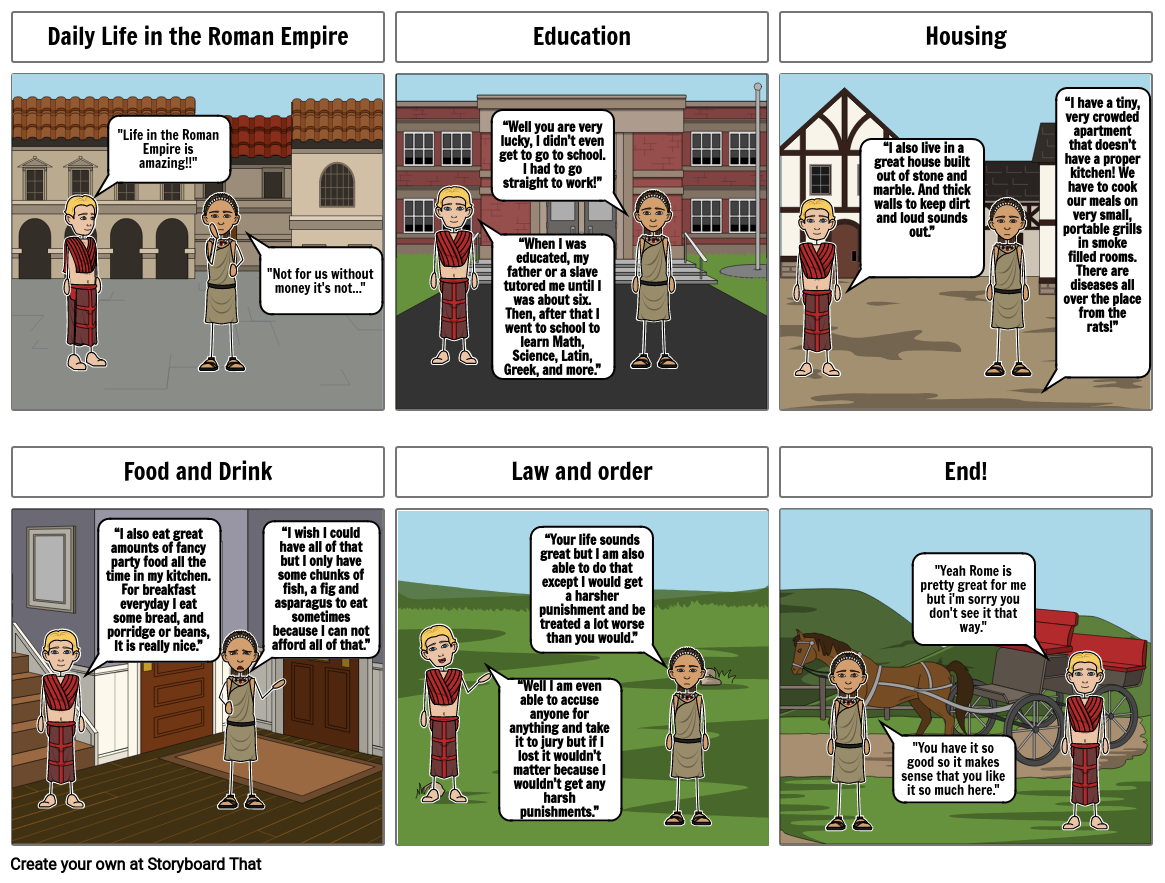 Daily Life in the Roman Empire