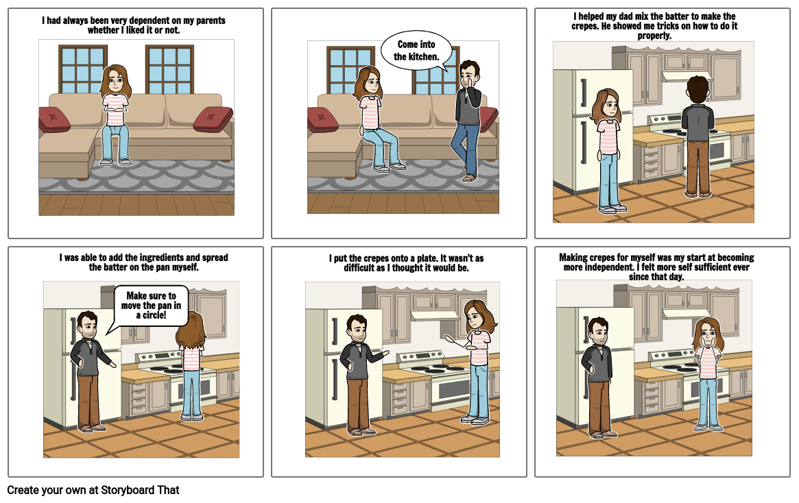Persepolis Comic Strip