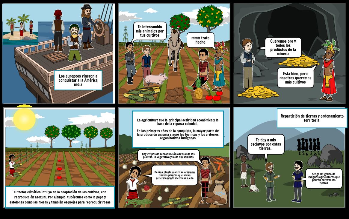 comic ciencias y sociales ESTEBAN MEJICANO
