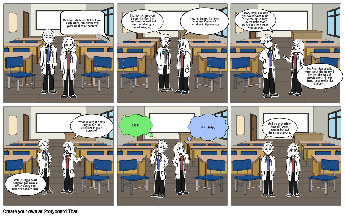 Theories of Motivation Comic Strip
