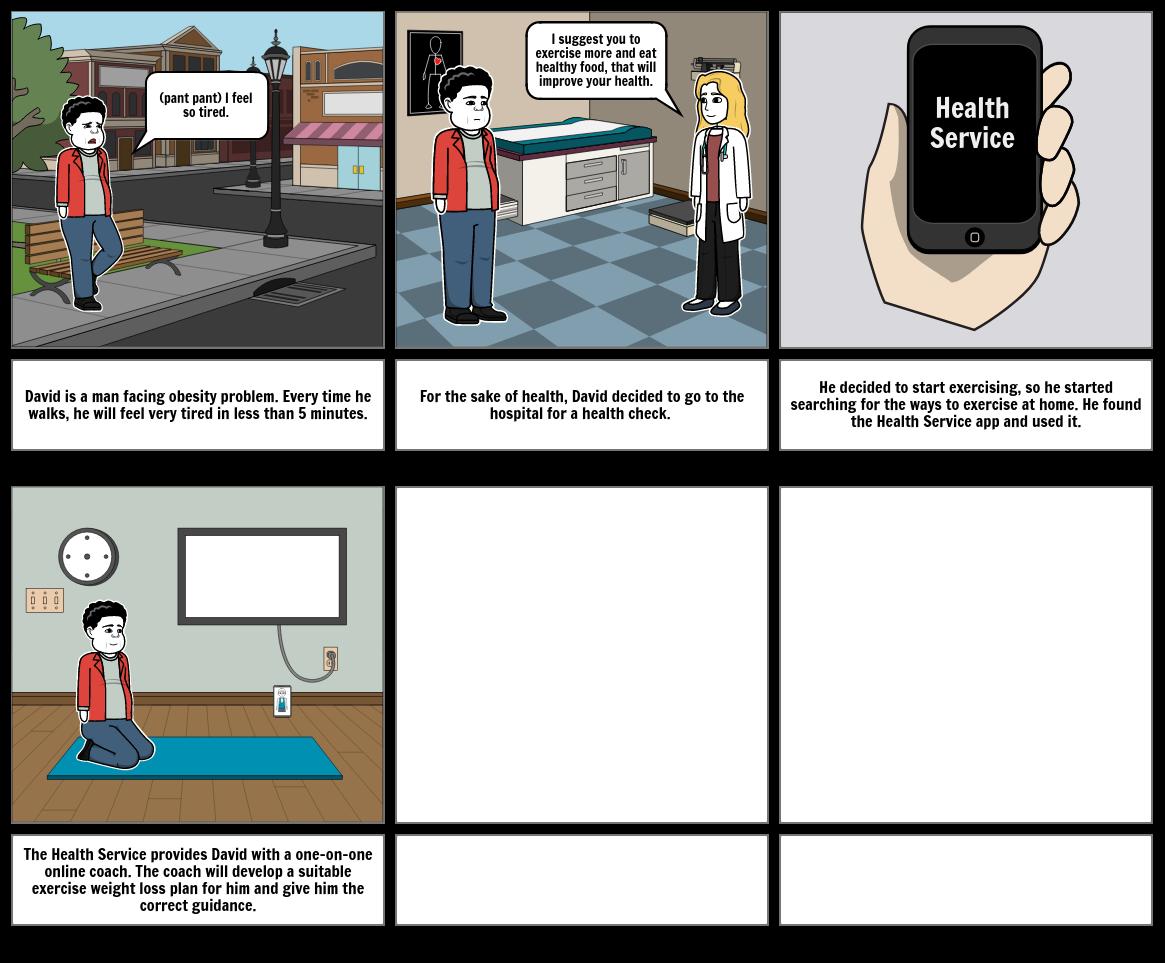 Health Service System - Problem Journey