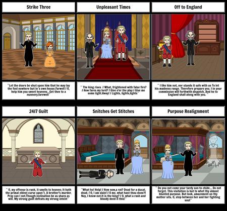 Hamlet Act 3: Scenes #1-4