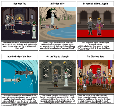 Beowulf: sections 4 & 5