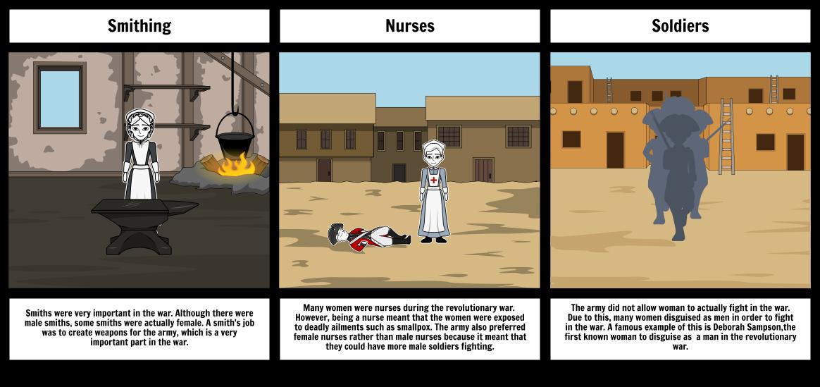 WOMAN IN REV WAR
