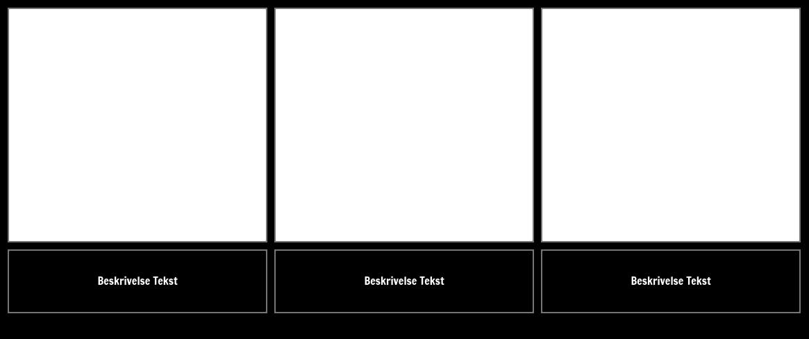 Blank celle med beskrivelse