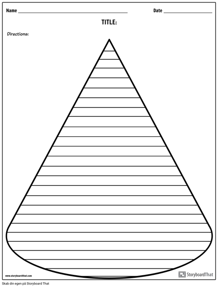 Creative Writing - Cone